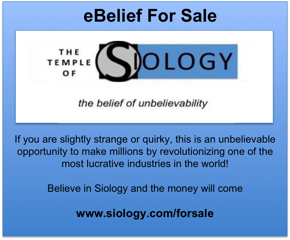 Siology for sale advert